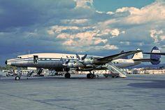 Luxair Lockheed Constellation at Palma de Mallorca 1965