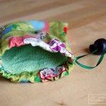 Stoffbeutel oder Stoffsäcke selber machen  #selbermachen #DIY #stoffbeutel