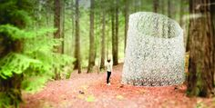 The Echoviren 3D Printed Sculpture Installation  Stephanie Smith and Bryan Allen (otherwise known as Smith|Allen) are currently engaged in completing what they say is the largest-scale 3D printed sculpture to date in the wilds of Northern California.