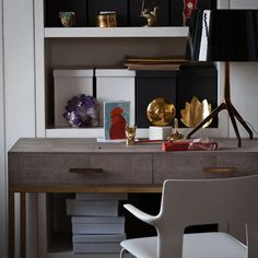 Elegant home office | Classic decorating ideas | housetohome.co.uk | Mobile
