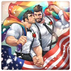 silverjow:    WELL DONE America and Happy Pride !