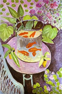 Henri Matisse - Red Fish (1911), Oil on Canvas
