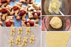 Les petits biscuits trop mignons en forme d'ourson pour le Noël de vos enfants - La Recette Chips, Macaron, Thing 1, Cookies, Desserts, Food, Table, Sweet Recipes, Cooking Recipes