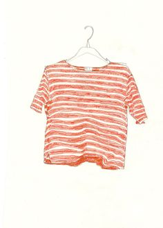 red striped t shirt by anna gleeson