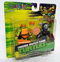 "Nickelodeon Teenage Mutant Ninja Turtles MiniMates 2"" Figures with Keyrings Sewer Gear Michelangelo & Casey Jones Minimates http://www.amazon.com/dp/B01293V4OG/ref=cm_sw_r_pi_dp_bL9Tvb0T6HRJR"