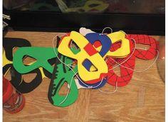 Superhero Masks by bykimconetta on Etsy, $2.00