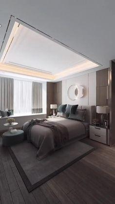 Fajna opcja przejścia z sypialni do dużej garderoby Bedroom False Ceiling Design, Room Design Bedroom, Bedroom Furniture Design, Home Room Design, Bathroom Interior Design, Bedroom Designs, Cool Room Designs, Small Room Design, Interior Decorating