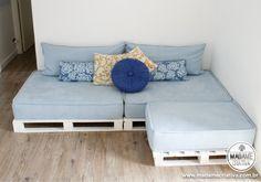 3 móveis para fazer com pallets reaproveitados | Economize