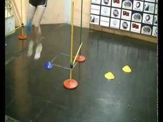 Handball: Ejercicios de zona media - YouTube