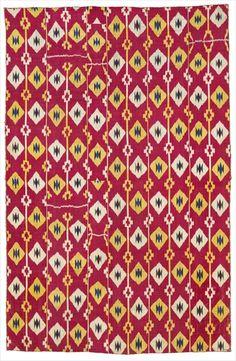 'russian fabric' ikat