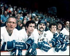 The greatest Hockey film ever made, Slap Shot is a comedy movie about a semi-pro hockey team fighting their way to victory Hockey Games, Hockey Mom, Hockey Players, Hockey Stuff, Slap Shot, Film Serie, Music Tv, Great Movies, Sport