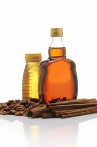 Honey and Cinnamon Cures. 1 teaspoon honey, 1/2 teaspoon cinnamon, 1 cup boiling water.