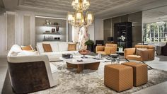 Luxury Living Group, a home furnishings company founded by Alberto Vignatelli, continues to expand in the Miami Design District. Living Room Interior, Living Room Furniture, Living Room Decor, Furniture Usa, Living Rooms, Shop Interior Design, Luxury Interior, Design Shop, Bentley Furniture
