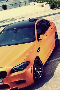 Orange BMW M5...    http://pinterest.com/treypeezy  http://twitter.com/TreyPeezy  http://instagram.com/OceanviewBLVD  http://OceanviewBLVD.com