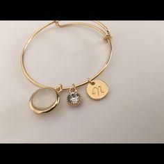 N Initial Adjustable Bracelet
