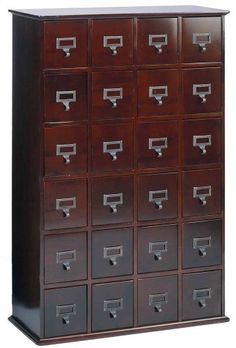 Leslie Dame 24-Drawer CD Media Storage Cabinet in Cherry by Leslie Dame, http://www.amazon.com/dp/B00069SOH6/ref=cm_sw_r_pi_dp_xq0Yrb1KCBXCP
