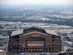 Indianapolis Colts--Lucas Oil Stadium: Indianapolis, INDIANA - Lucas Oil Stadium