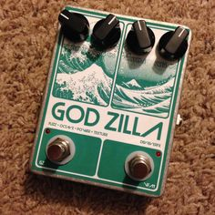 Devi Ever FX God Zilla Fuzz Octave