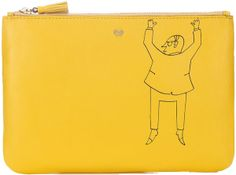 Anya HIndmarch - woulb be cool if I liked yellow :)
