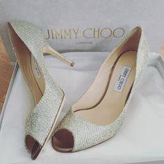 #wedding #weddingshoes #jimmychoo #hochzeitsschuhe