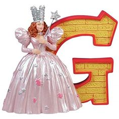 WL SSWL17007 Wizard of Oz Collectible Brick Letter G Figurine Yellow 325 * For more information, visit image link.