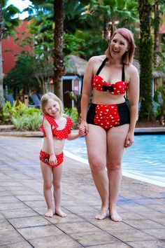 Disney days ahead? These mommy and me suits are perfect for Disney World trips (and this post shares all about the best hotels near Disney World with the best pools)!