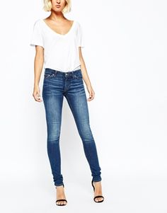 Weekday - Saturday - Jean skinny taille basse