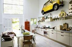 Retrouvez votre MINI en cuisine, de quoi habiller votre mur !