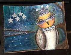 diva owl Lifebook 2015 - Juliette Crane lesson