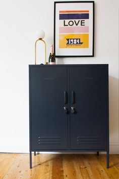 Shop Australian brand Mustard Made for vintage inspired lockers at Sue Parkinson including the Mustard Made The Midi Locker in Slate. How To Store Shoes, Adjustable Shelving, Soft Furnishings, Scandinavian Design, Decoration, Cupboard, Slate, Home Accessories, Lockers
