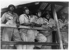 "African American Nurses in Australia, 1944.African Americans served in segregated units.The army was de-segrageted until 1949 when Pres. Truman signed it into law.Most people thought it would lower troop morale to serve with ""Negro"" troops. Sound familiar? Anyway, the history of blacks in the military since the Revolutionary war has been left out of the history books.Biddy Craft"