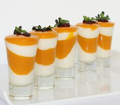 Mango Yogurt Verrines