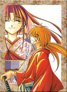 This picture happened to be the cover page of the final volume of the Rurouni Kenshin manga and I must say, after reading the contents of it, it's really hard not to tear a little when you close it only to be looking at this picture again. It's a complicated feeling but at the same time, one can't help it. This picture really is breathtaking and perfect!