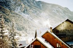 """bearsfighting:lost-in-the—woods: """" """" December in France. (by Rona Keller) """" """" Aspen, Beautiful World, Beautiful Places, French Alps, To Infinity And Beyond, Historical Sites, The Great Outdoors, Winter Wonderland, Skiing"""