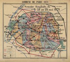 Histoire en carte de la Commune de Paris