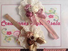 Tiara de boton de rosa Creaciones Rosa Isela    VIDEO No. 232