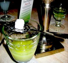 Absinthe - I've been wanting to try this since I was 12 haha I want to see the mystical green fairies!