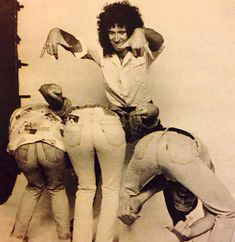 John Deacon, Roger Taylor, Brian May and Freddie Mercury of Queen
