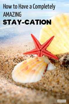 Stay_cation Ideas. Some great ideas to have fun at home with your family. #5 is my favourite!