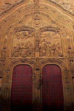 Portada del nacimiento de la Catedral Nueva de Salamanca (Cathedral of Salamanca)