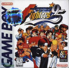 King of Fighters 95, Gameboy, published by Takara, Nintendo