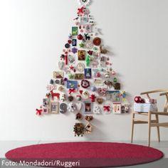 Tannenbaum aus Wanddeko, Christmas Tree DIY
