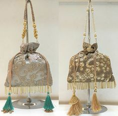 Diy Fashion, Fashion Bags, Lace Bag, Potli Bags, Clutch Purse, Ibiza, Hand Embroidery, Quilt Patterns, Purses And Bags
