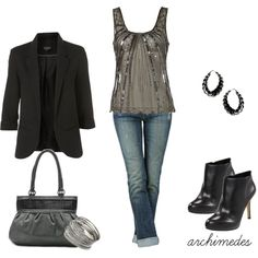 """Saturday Night"" by archimedes16 on Polyvore"