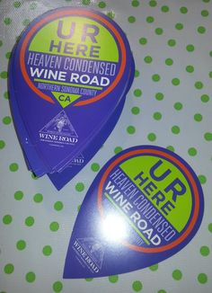 thousands of these are on the way to our member wineries and lodgings...let the photo sharing begin.