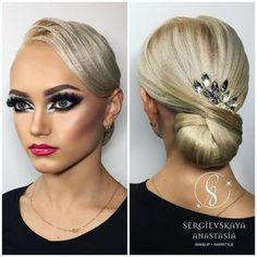 """1,364 Likes, 8 Comments - Sergievskaya Anastasia (@sergievskaya_stylist) on Instagram: """"@ariadna_tishova World Champion ✨✨✨ Hairstyle&Makeup by @sergievskaya_stylist #mua #muah…"""""""