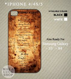 Harry Potter Dumbeldore Army Name List Scroll Iphone
