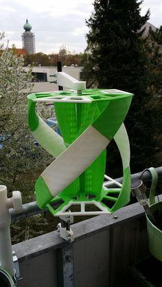 alternative energy Savonius+Darrieus+Turbine+by+astfaellergerald. Renewable Energy, Solar Energy, Solar Power, Alternative Energie, 3d Templates, 3d Printer Projects, Sustainable Energy, 3d Prints, Wind Power