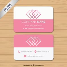 Free business card vector templates vector illustrations pin business card free vector reheart Gallery