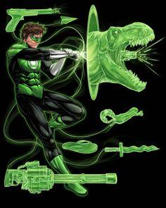 Green Lantern Constructs - Serg Acuña